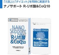 ナノサポート R-リポ酸&CoQ10